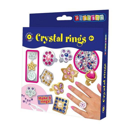 Playbox Kreativset Kristallringe