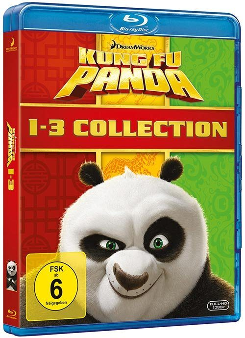 Universal BLU-RAY Film »Kung Fu Panda 1-3 Collection«
