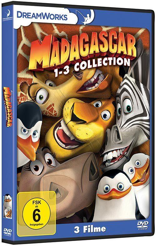Universal DVD - Film »Madagascar 1-3 Collection«