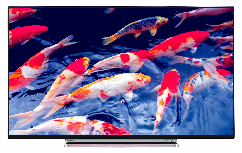 Toshiba LED-Fernseher (49 Zoll, 4K UHD, Smart TV, Triple-Tuner) »49U6763DG«