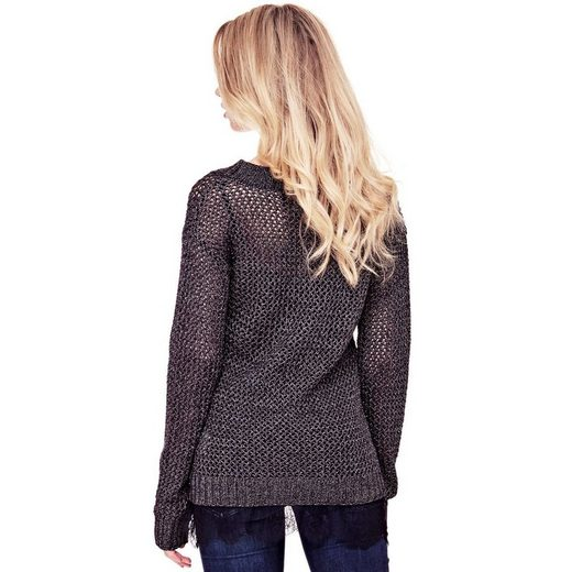 Guess PULLOVER GROBMASCHIG