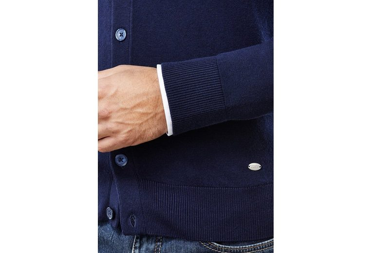 Vincenzo Boretti Cardigan mit taillierter Passform Spielraum Shop-Angebot zrwxKU