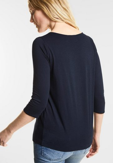 CECIL Basic 3/4-Arm Shirt Adriana