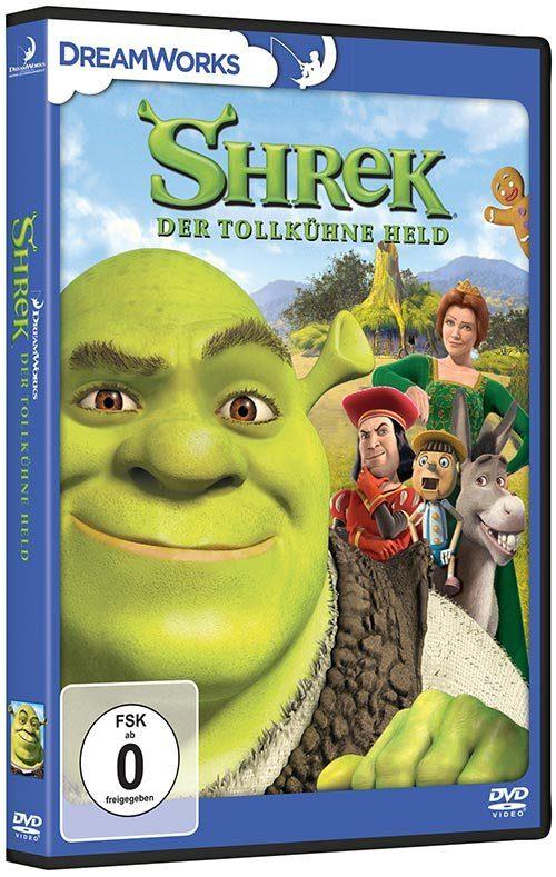 Universal DVD - Film »Shrek - Der tollkühne Held«