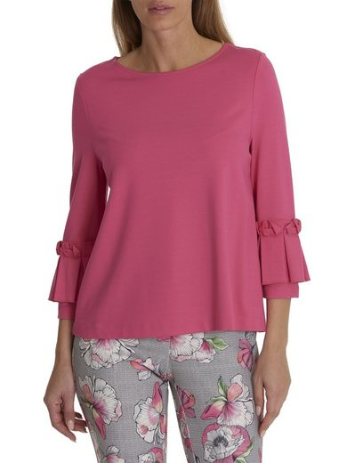 Betty & Co Sweatshirt With Great Volant Sleeves