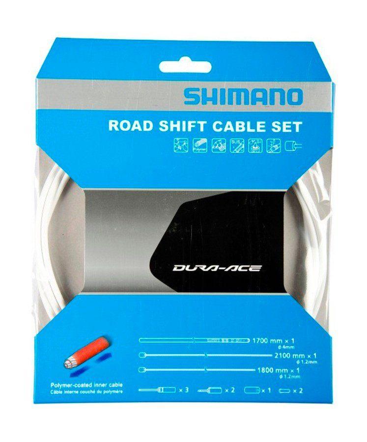Shimano Schaltung »Road Schaltzug-Set polymerbeschichtet«