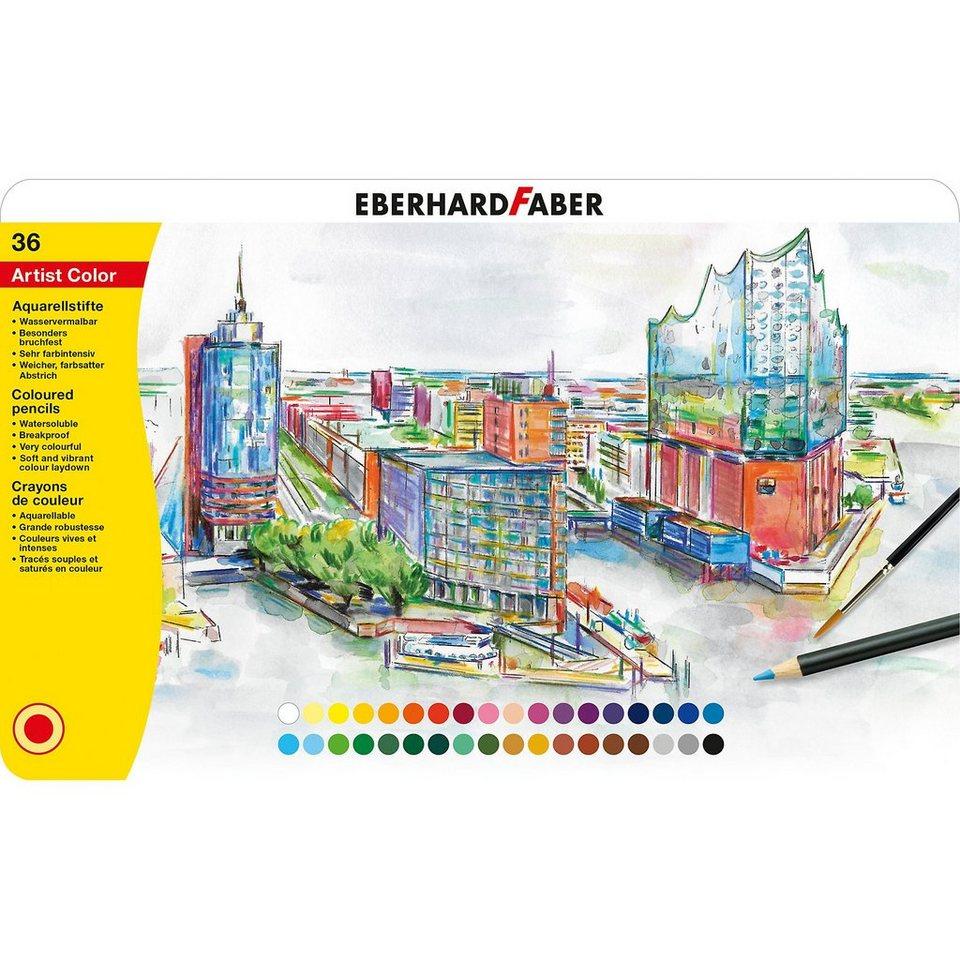 Eberhard Faber Aquarellbuntstifte Artist Farbe, 36 Farben online kaufen