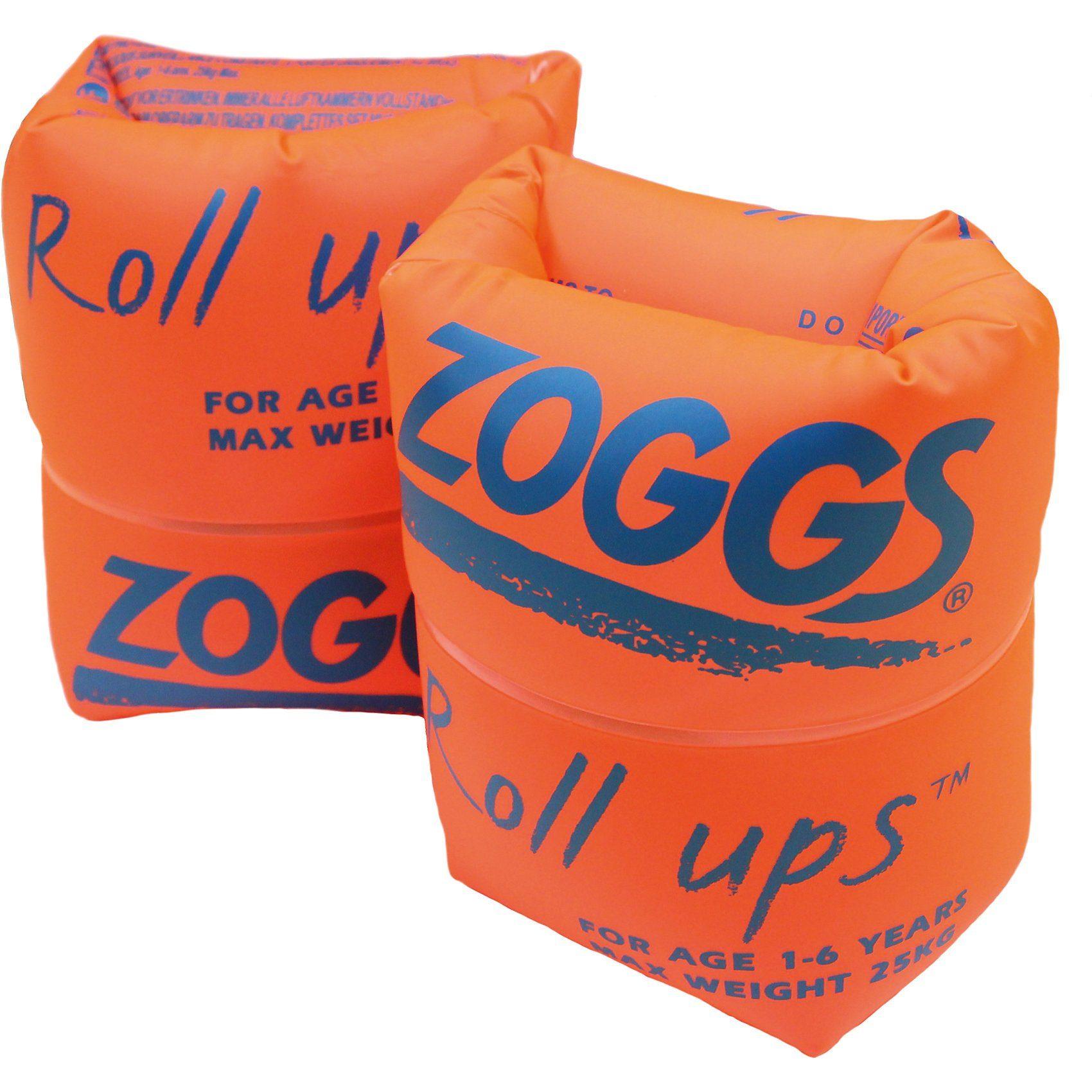 Zoggs Schwimmhilfe Roll Ups 0-50 kg, orange