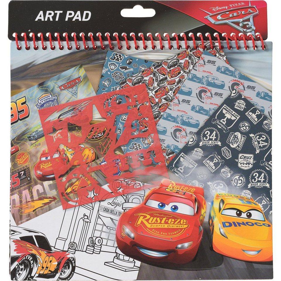 Frajodis Schablonenset Art Pad Cars 3 kaufen