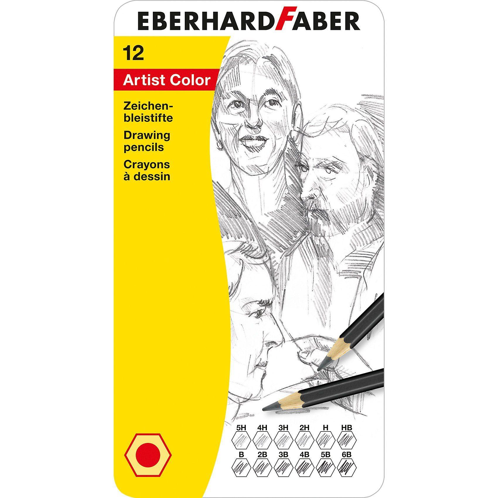 Eberhard Faber Zeichenbleistifte, 12 Farben