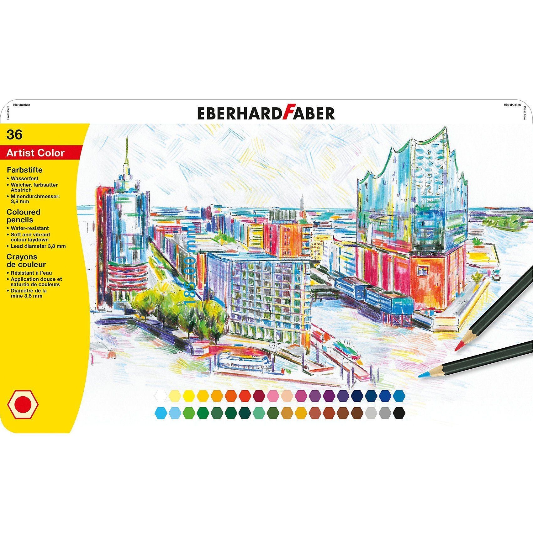 Eberhard Faber Buntstifte Artist Color, 36 Farben