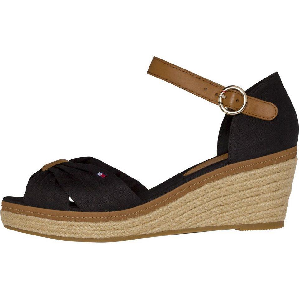 tommy hilfiger slipper iconic elba sandal kaufen otto. Black Bedroom Furniture Sets. Home Design Ideas