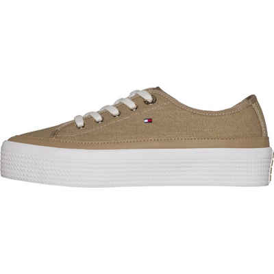 e8415bdd4449fb Tommy Hilfiger Sneaker »GLITTER TEXTILE FLATFORM SNEAKER«