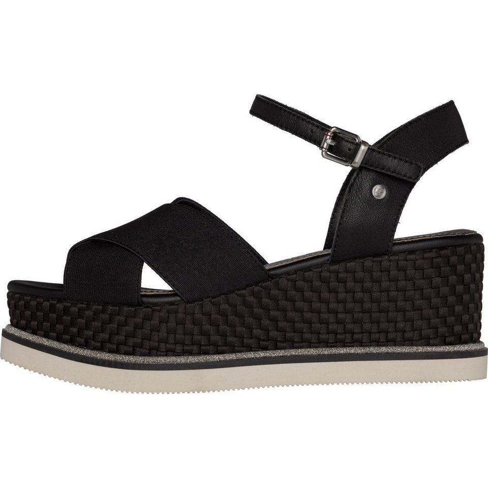 tommy hilfiger sandalen sporty stretch flatform otto. Black Bedroom Furniture Sets. Home Design Ideas