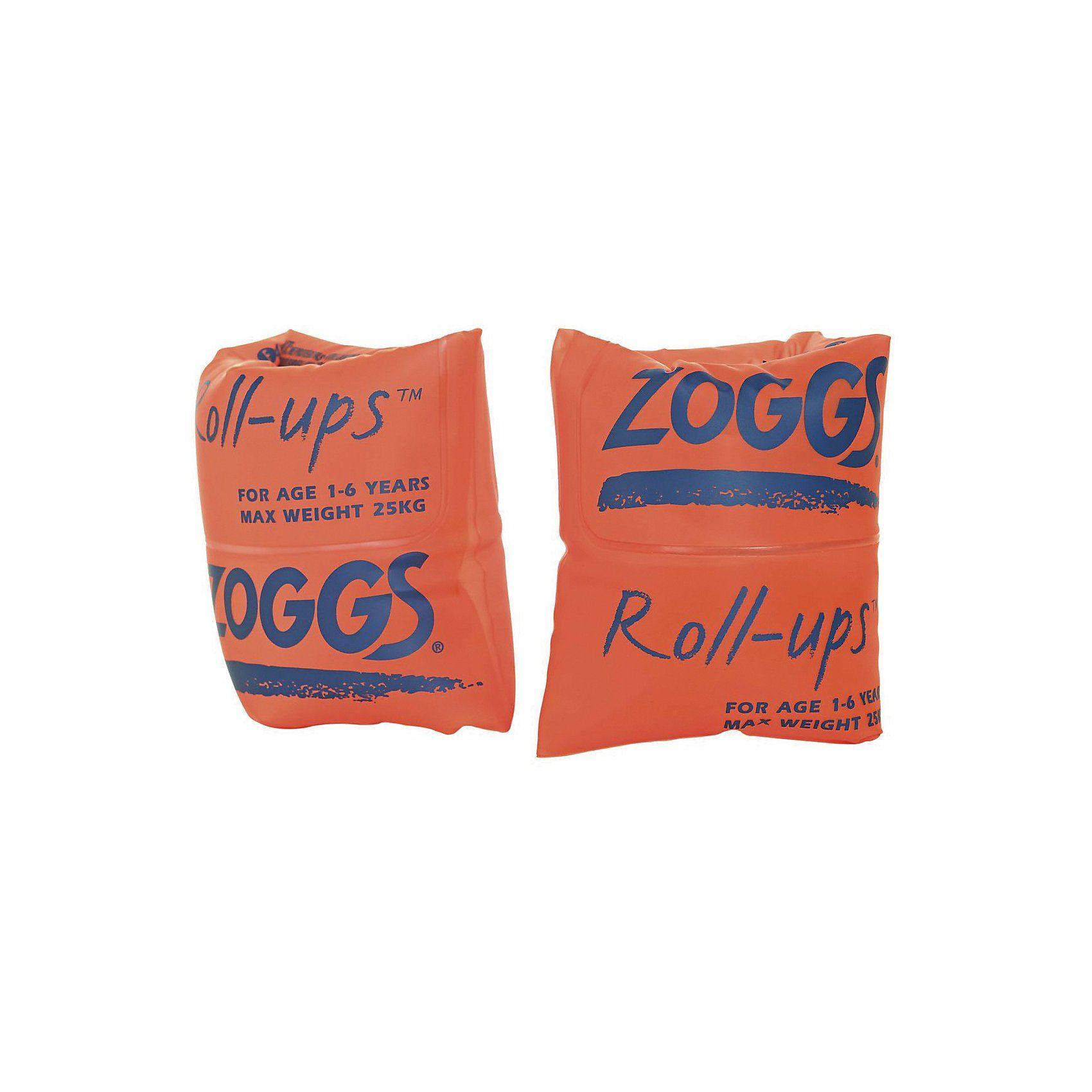 Zoggs Schwimmhilfe Roll Ups 0-25 kg, orange