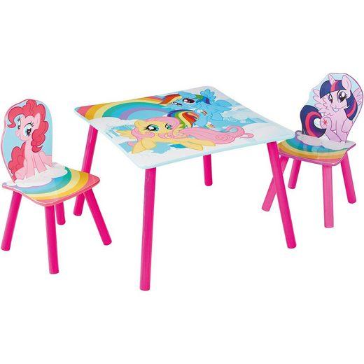 WORLDS APART Kindersitzgruppe 3-tlg., My little Pony, mehrfarbig