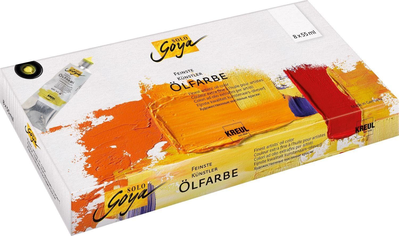 "Kreul Ölfarbe-Set ""Solo Goya Grundfarben"" 8er-Set"