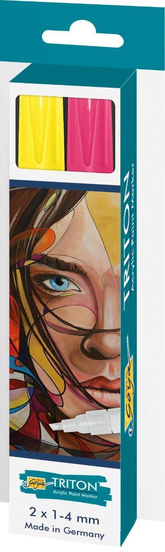 "Kreul Acrylfarbstifte-Set ""Triton Acrylic Paint Marker 1.4"""