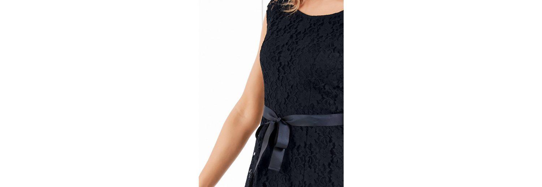 Taifun Kleid Langarm kurz Spitzenkleid Günstig Kaufen Zum Verkauf aVTevVlA