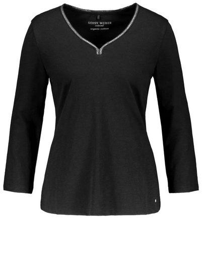 Gerry Weber T-Shirt 3/4 Arm 3/4 Arm Shirt organic cotton