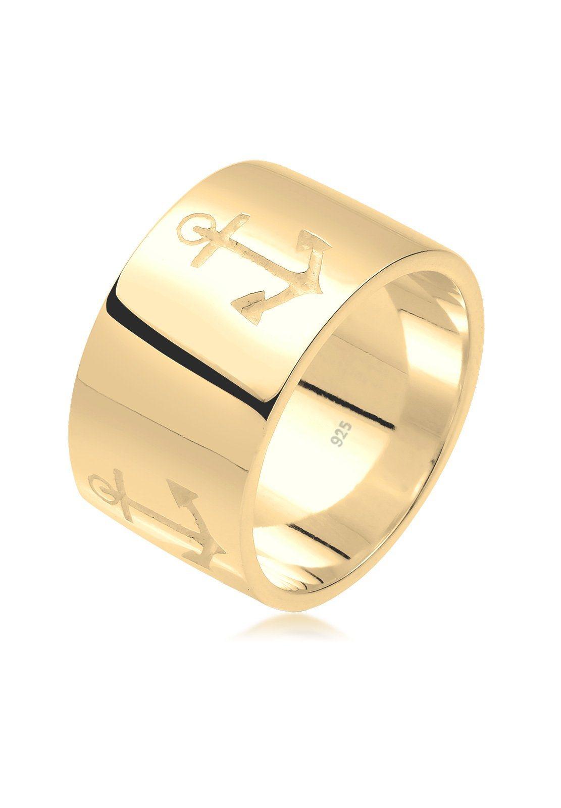 Ring »Anker Bandring 925 Sterling Silber«