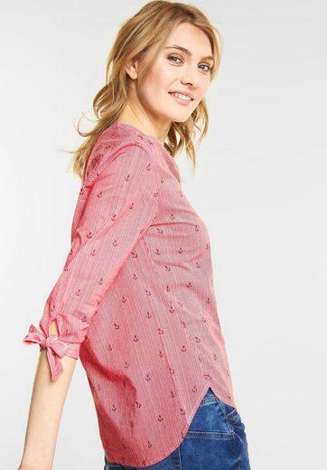Street One Streifen-Bluse mit Ankern