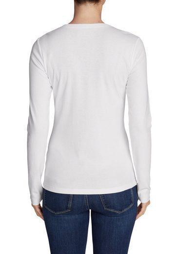 Eddie Bauer Favorite Shirt - Langarm mit V-Ausschnitt