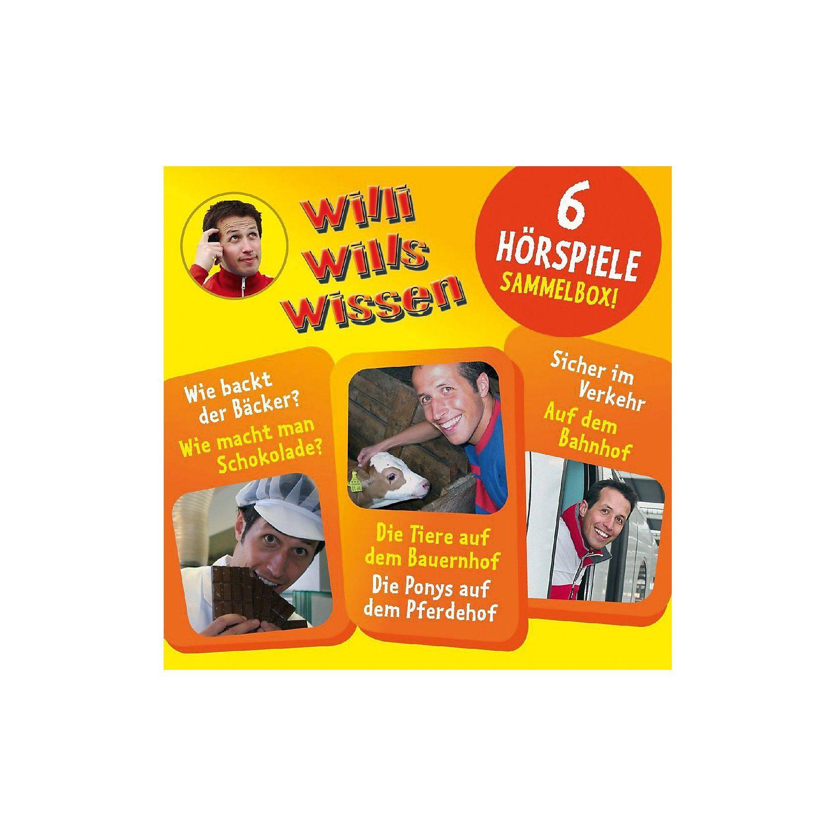 Edel CD Willi Wills Wissen Sammelbox 01 mit 6 Hörspielen