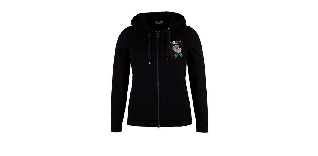 Genießen Kosten Für Verkauf TRIANGLE Sweatjacke mit Embroidery Spielraum Wählen Eine Beste Für Schön Zu Verkaufen eKwQ5BwL1f