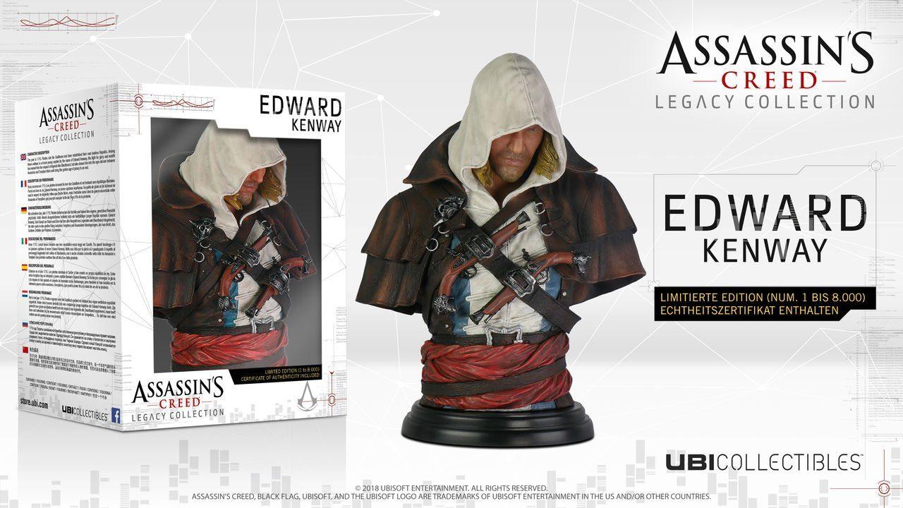 Ubisoft Fanartikel »Assassin's Creed Edward Kenway Büste«