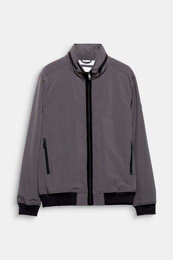ESPRIT Sportive Nylon-Jacke mit variabler Kapuze