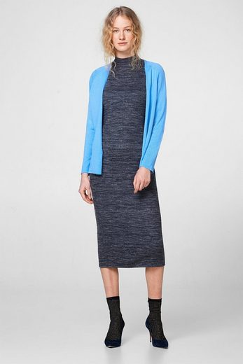 Wit Open Cardigan With High-low-hem