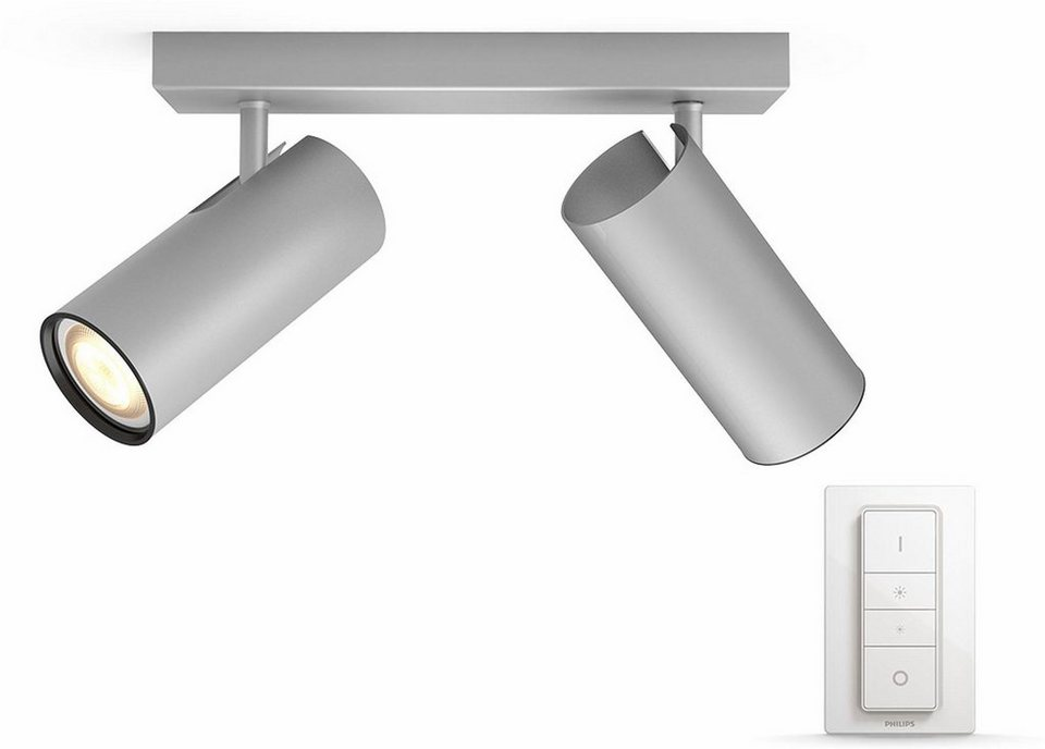 philips hue led deckenstrahler buratto 2 flammig smart home online kaufen otto. Black Bedroom Furniture Sets. Home Design Ideas