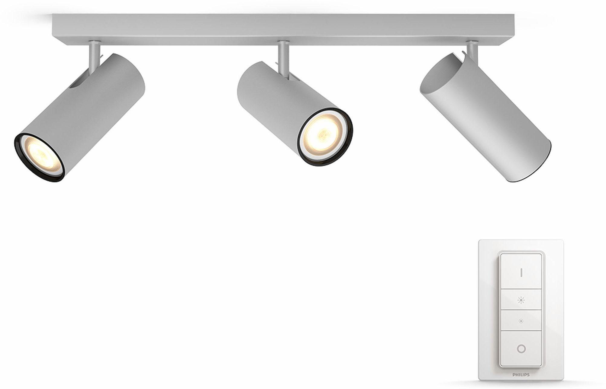 Philips Hue LED Deckenstrahler »Buratto«, 3-flammig, Smart Home
