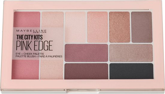 MAYBELLINE NEW YORK Lidschatten-Palette »City Kits«, In trendigen Rosé-Nuancen