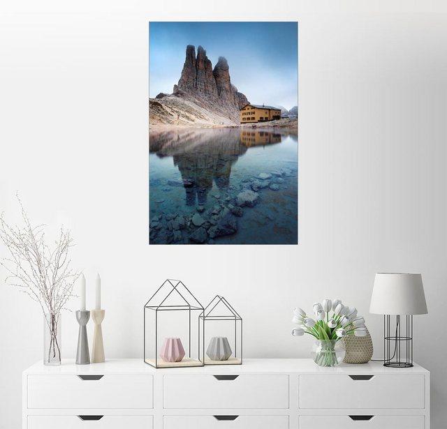 Posterlounge Wandbild - Matteo Colombo »Vajolet Türme in den Dolomiten« | Dekoration > Bilder und Rahmen > Bilder | Posterlounge