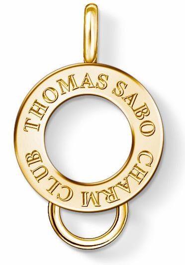 "THOMAS SABO Kettenanhänger »Carrier, X0247-413-39« Mit Gravur ""THOMAS SABO CHARM CLUB"""