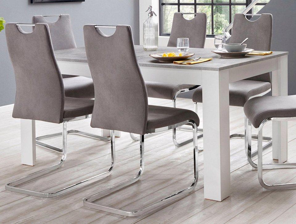 homexperts zabona esstisch breite 160 cm kaufen otto. Black Bedroom Furniture Sets. Home Design Ideas