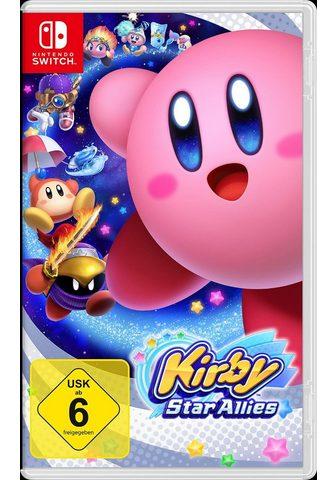 NINTENDO SWITCH Kirby Star Allies Nintendo Šakotuvas