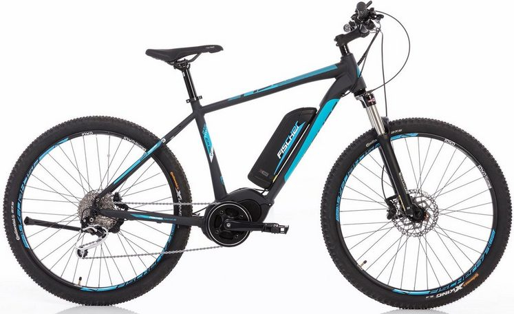 fischer mountainbike e bike 48 v 250 w mittelmotor 27 5. Black Bedroom Furniture Sets. Home Design Ideas