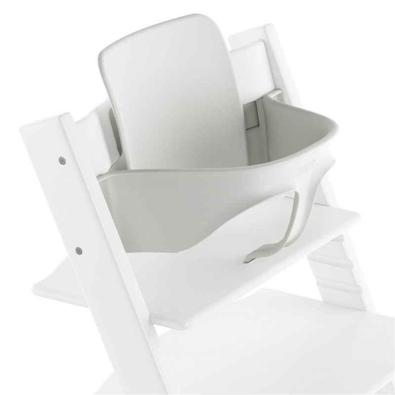 Stokke Hochstuhlaufsatz »TRIPP TRAPP® Baby Set«, Zubehör für Babys ab 9 kg (ca. 6 Monate) – Farbe: White