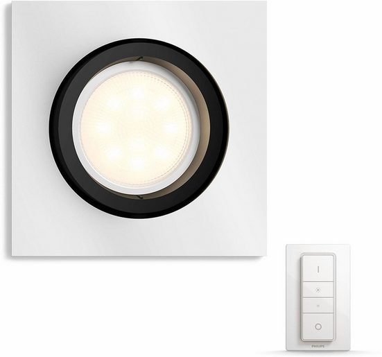 Philips Hue LED Einbaustrahler »Milliskin«, Smart Home