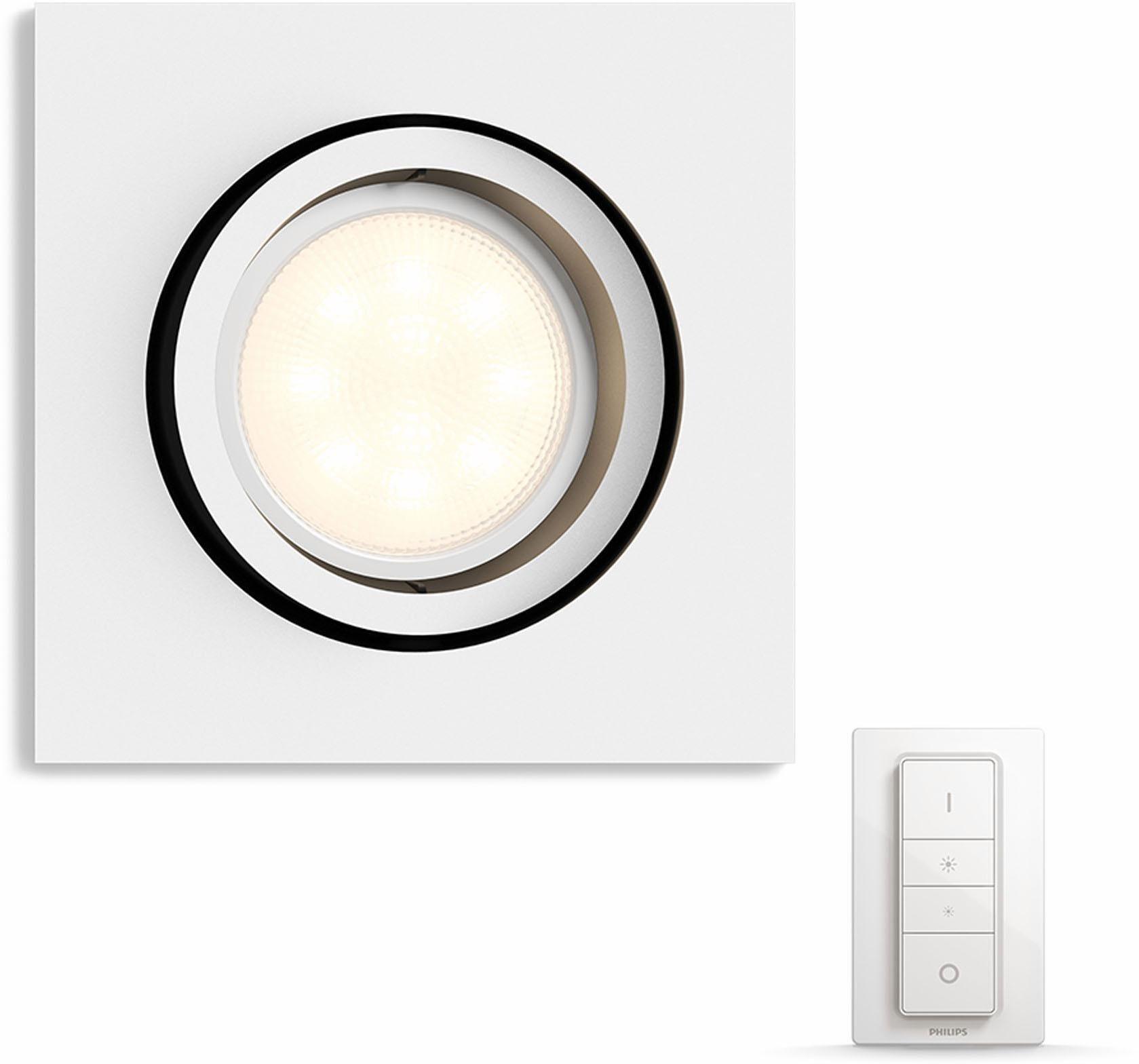 Philips Hue LED Einbaustrahler »Milliskin«, 1-flammig, Smart Home   Lampen > Strahler und Systeme > Einbaustrahler   Magenta   Philips Hue