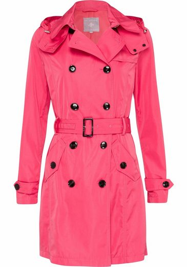 IN LINEA Trenchcoat, mit abnehmbarer Kapuze