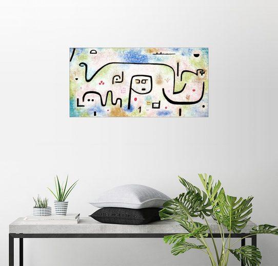 Posterlounge Wandbild - Paul Klee »Insula Dulcamara«