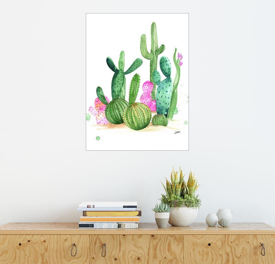 posterlounge wandbild rongrong devoe cactus otto. Black Bedroom Furniture Sets. Home Design Ideas