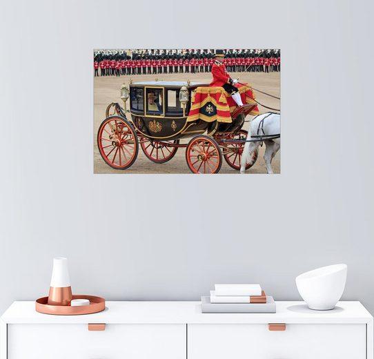 Posterlounge Wandbild - Hans-Peter Merten »Queen Elizabeth 2012«
