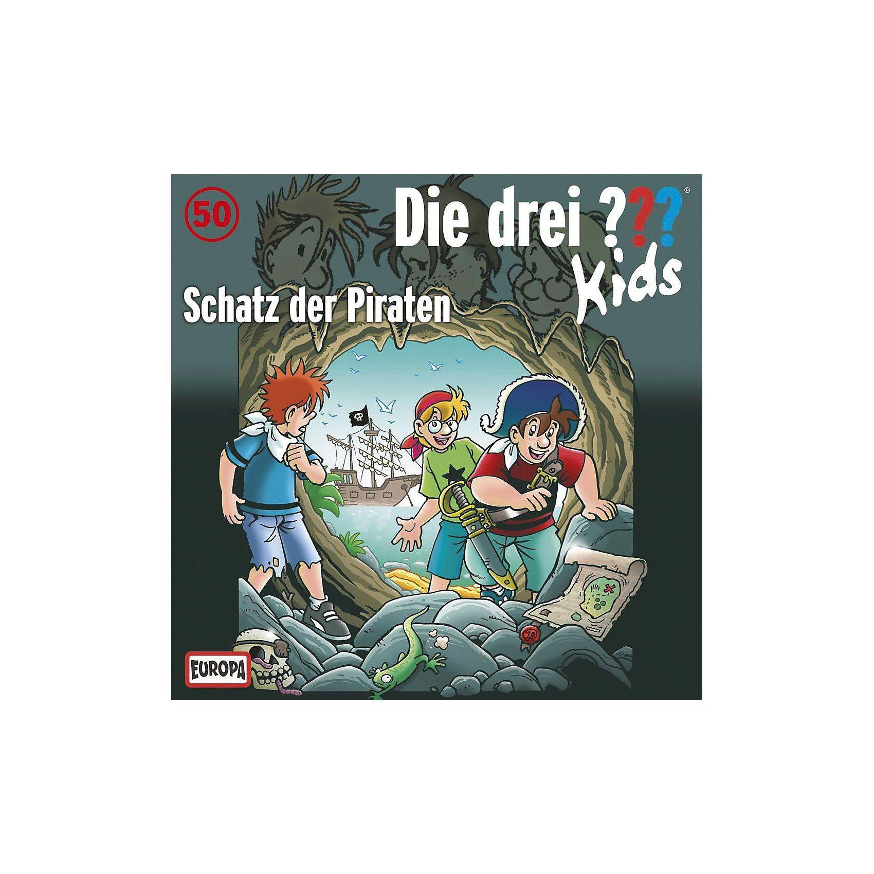 Sony CD Die Drei ??? Kids 50 - Schatz der Piraten