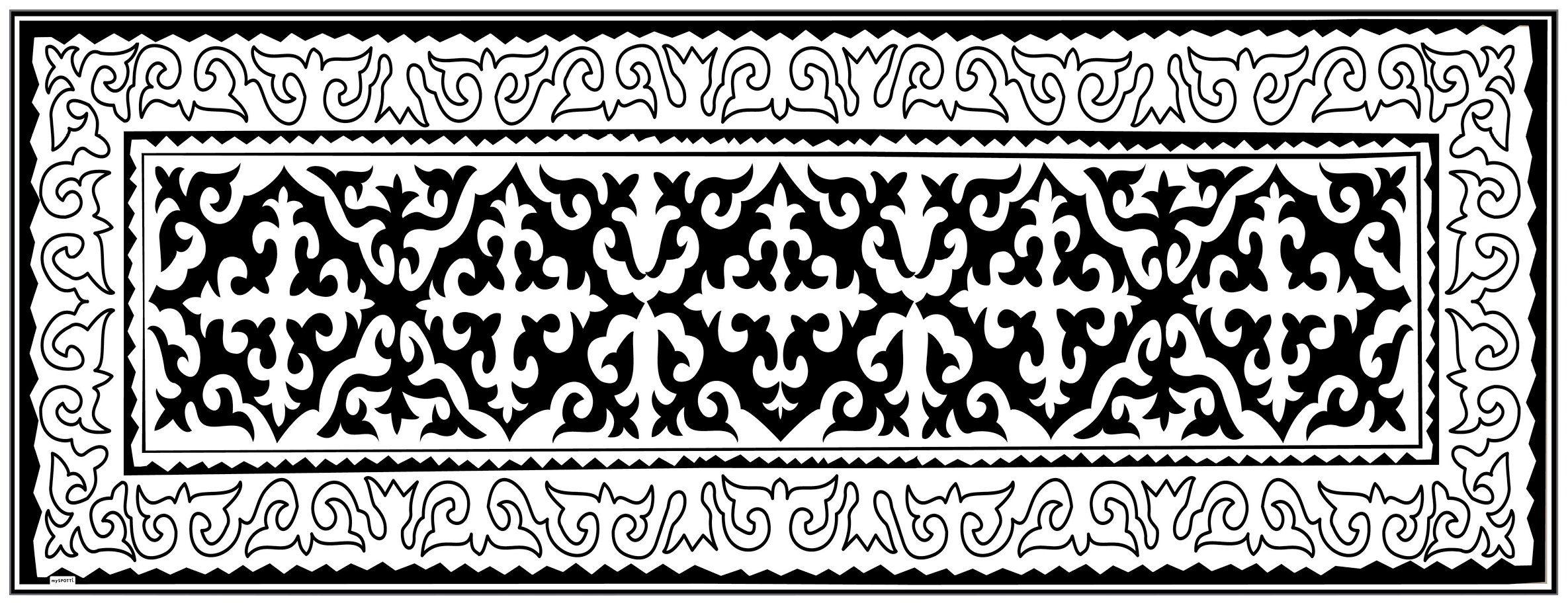 MYSPOTTI Vinylteppich »mySPOTTI buddy Nimani«, 180 x 68 cm, statisch haftend