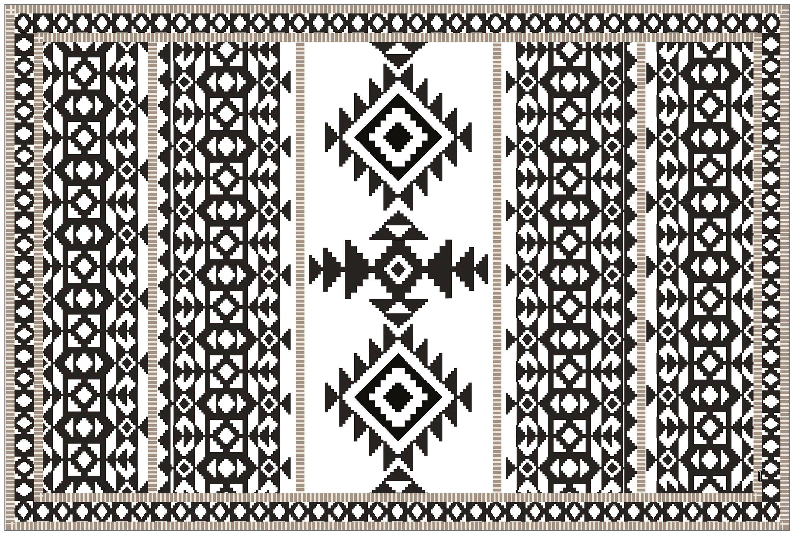 MYSPOTTI Vinylteppich »mySPOTTI buddy Django«, 203 x 136 cm, statisch haftend